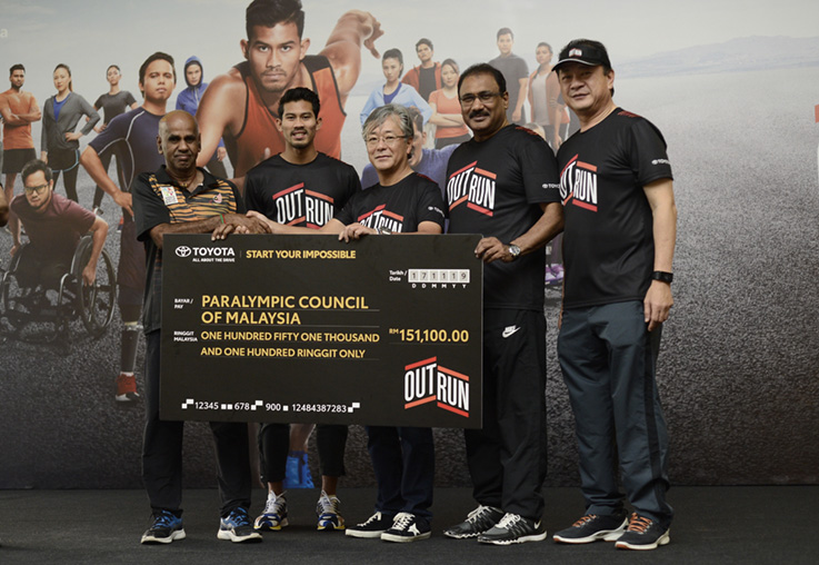 Toyota Outrun raises RM151,100 to assist persons with disabilities