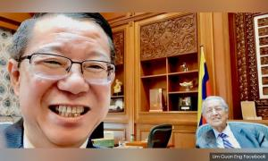 Fret not, BP is good - PM tells smiling Guan Eng after nose bleed scare