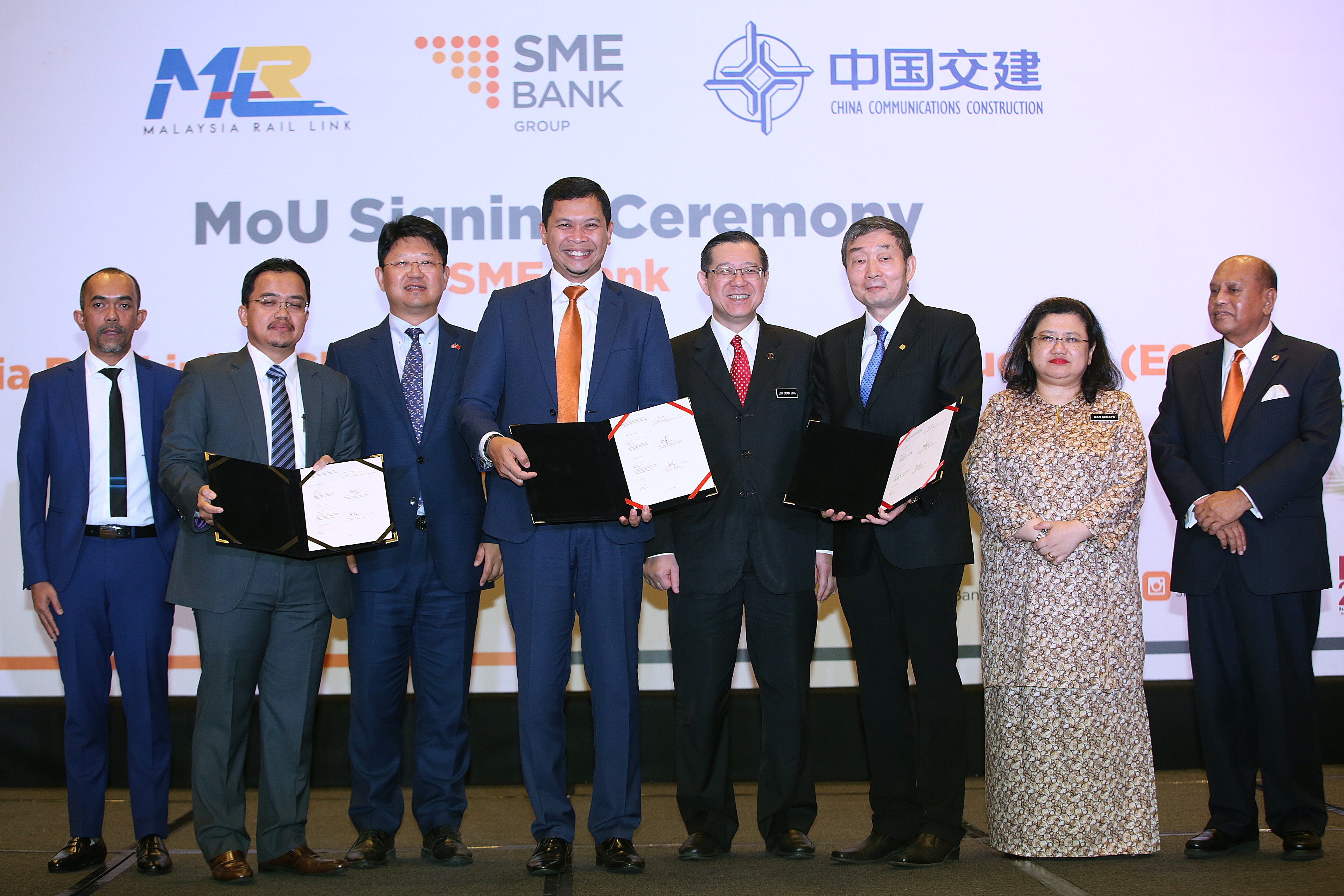 SME Bank sets aside RM1b worth of financing for ECRL contractors