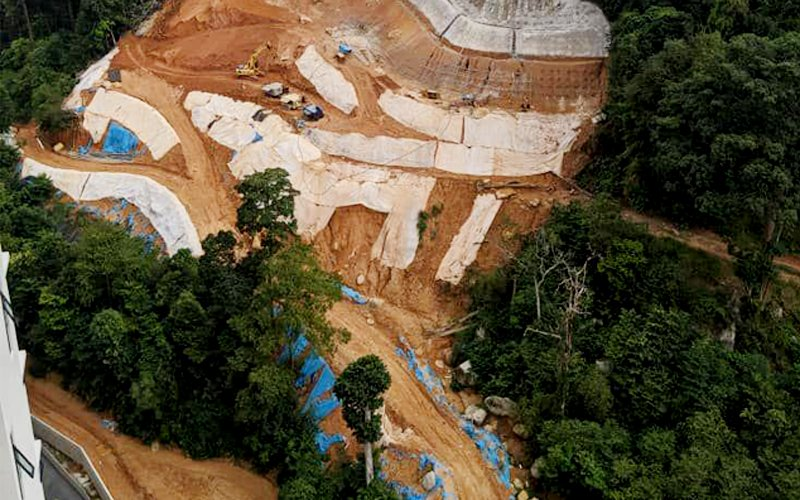 Cleared hill land approved by Penang government, says council