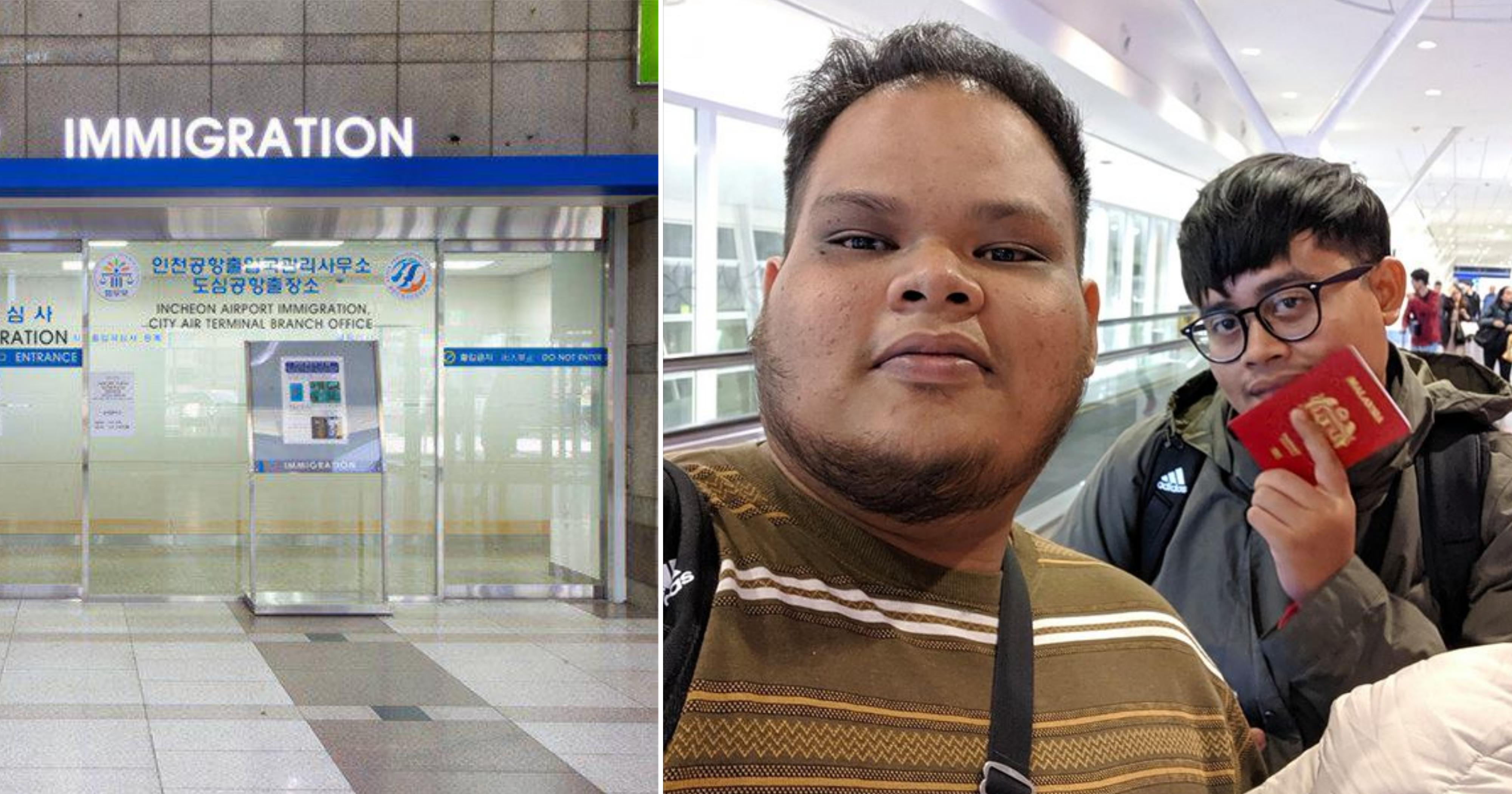2 M'sians travel to South Korea for holiday, end up getting deported at Incheon airport