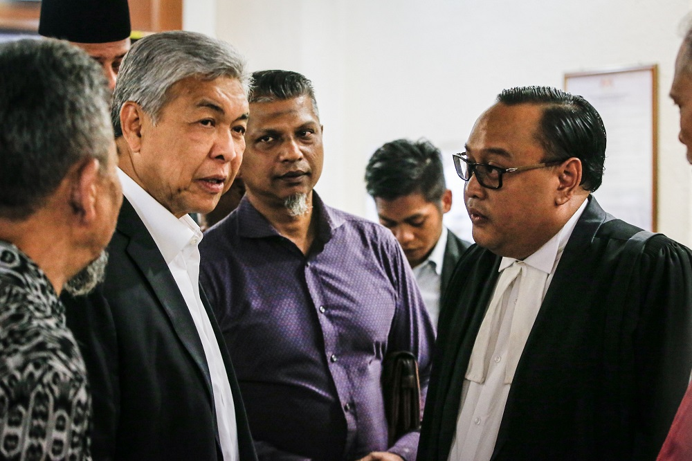 Ahmad Zahid trial: Witness says ordered to sign blank cheques in Yayasan Akalbudi's name