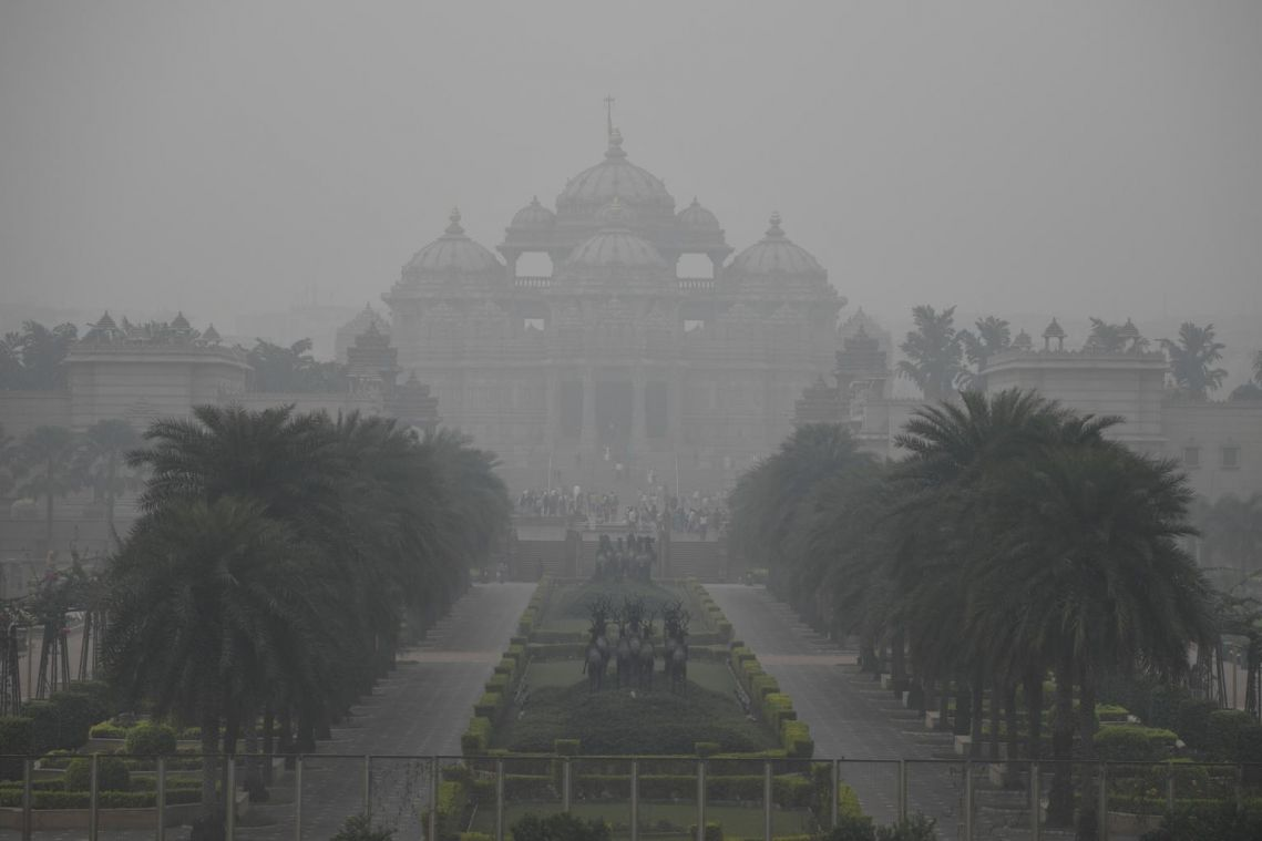 Delhi's dirty air carries intangible costs for a slowing economy