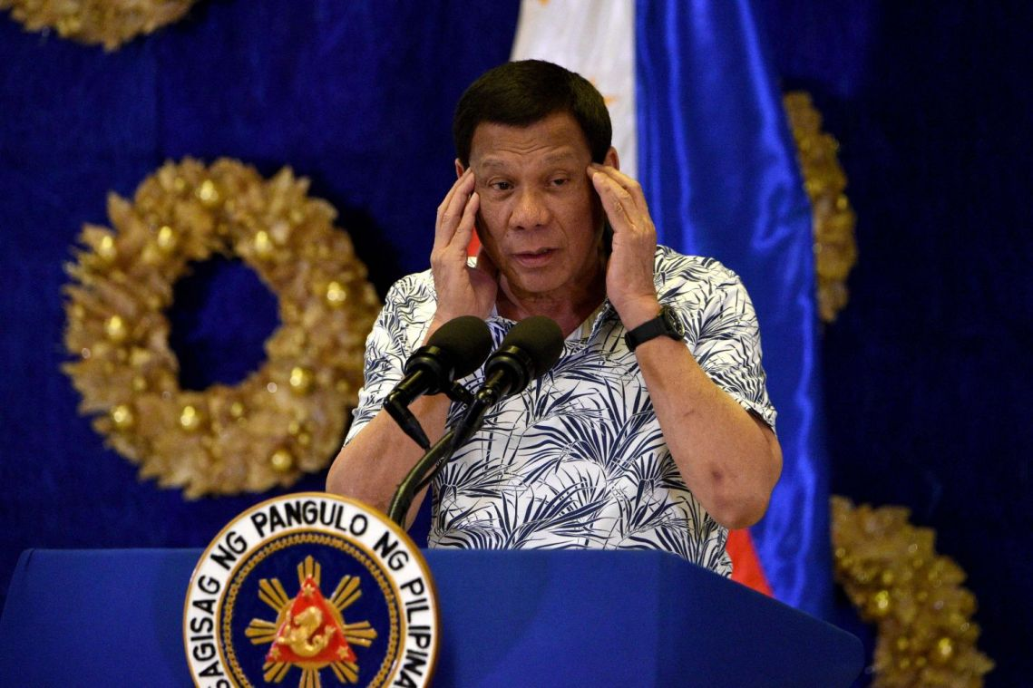 Philippines' Duterte says to ban 'toxic' e-cigarettes and arrest users
