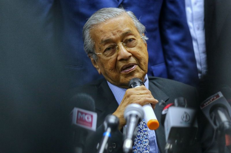 Dr M: Pakatan can sack me if they want