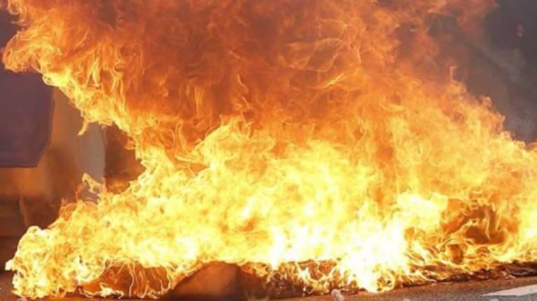 Fire destroyed 35 stilt houses in Kampung Bungaya, Sandakan