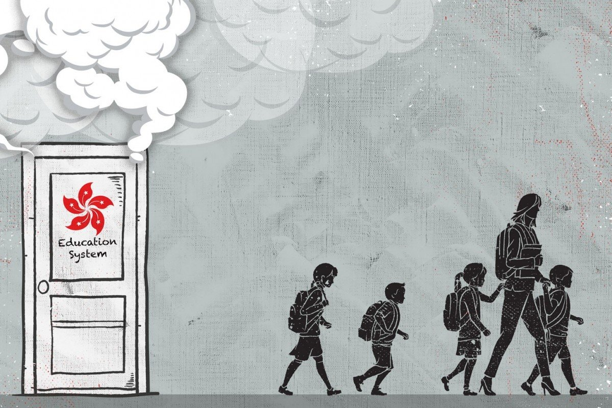 Why Chinese parents are taking their children out of Hong Kong schools