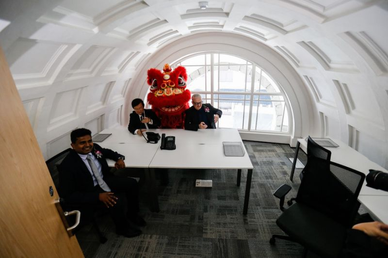 From bank to co-working space: Penang's 87-year-old Standard Chartered building reopens