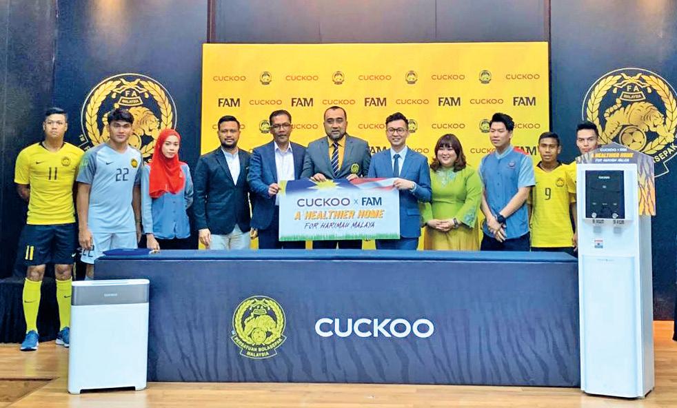Cuckoo teams up with Harimau Malaya