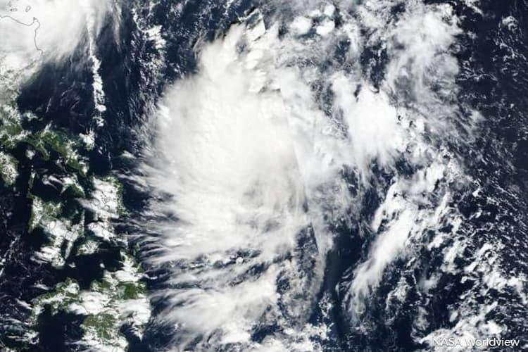 Kalmaegi tropical storm to cause strong winds, rough seas