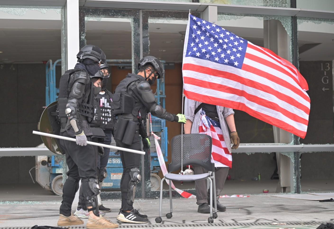 【修例风波】外交部促美停止插手香港事务 否则採取有力措施反制