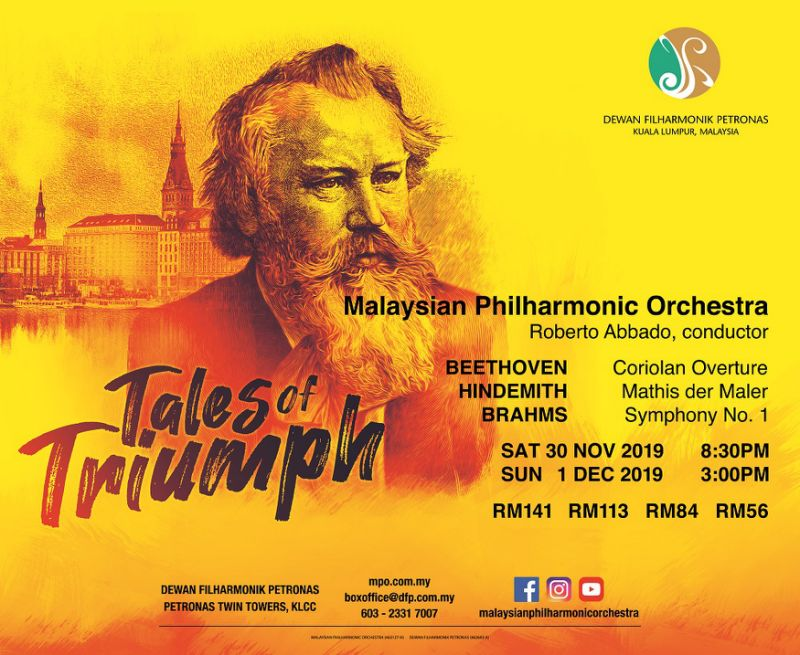 Malaysian Philharmonic Orchestra presents three masterpieces by great German composers