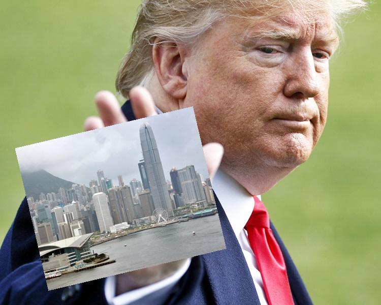 【修例风波】外电料特朗普将签署《香港人权与民主法案》