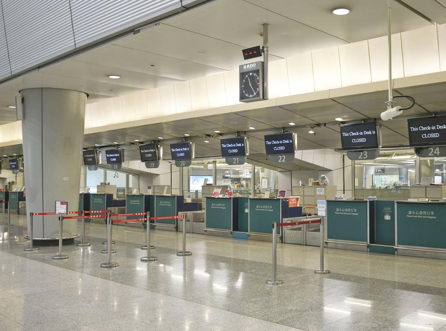 机场快綫今晚11时起 只停香港站至机场站