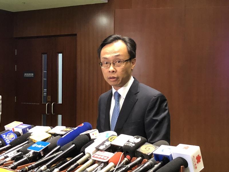 聂德权回应郑文杰指控 称要按内地法律处理