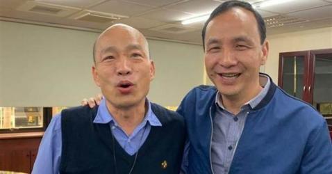 韩国瑜最佳助选员 网:有他罩就稳了!