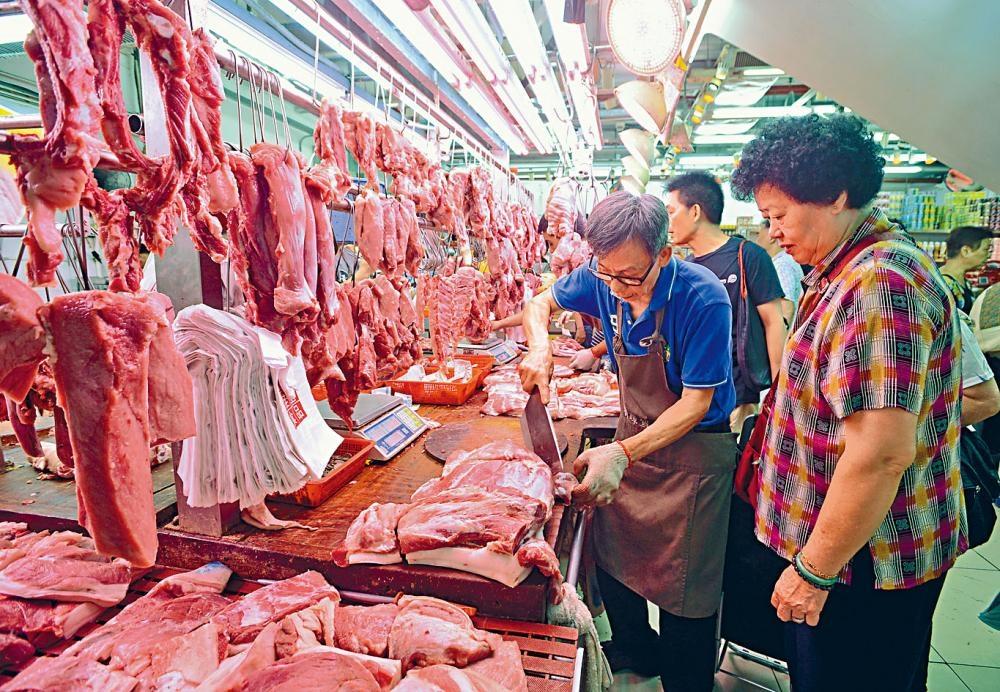 猪肉价格高企 10月消费物价指数3.1%稍降