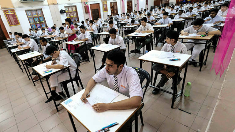 Delay in SPM chemistry examination was due to shortage of question papers