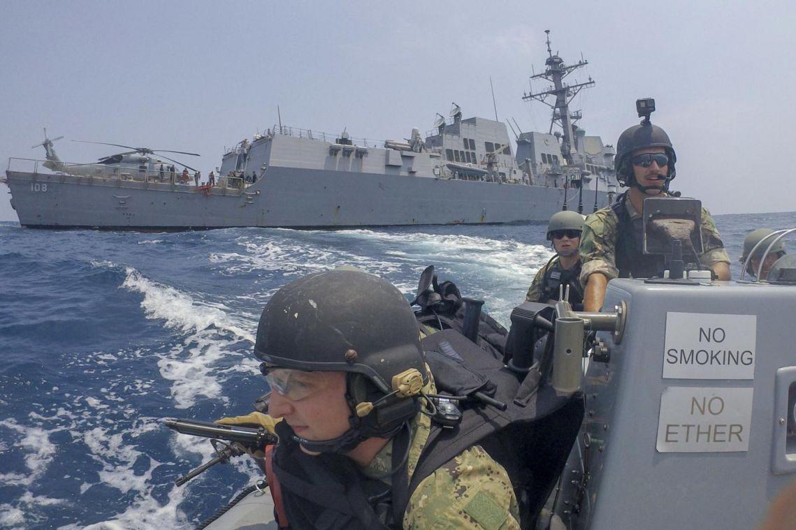 US warships sail in disputed South China Sea amid US-China tensions