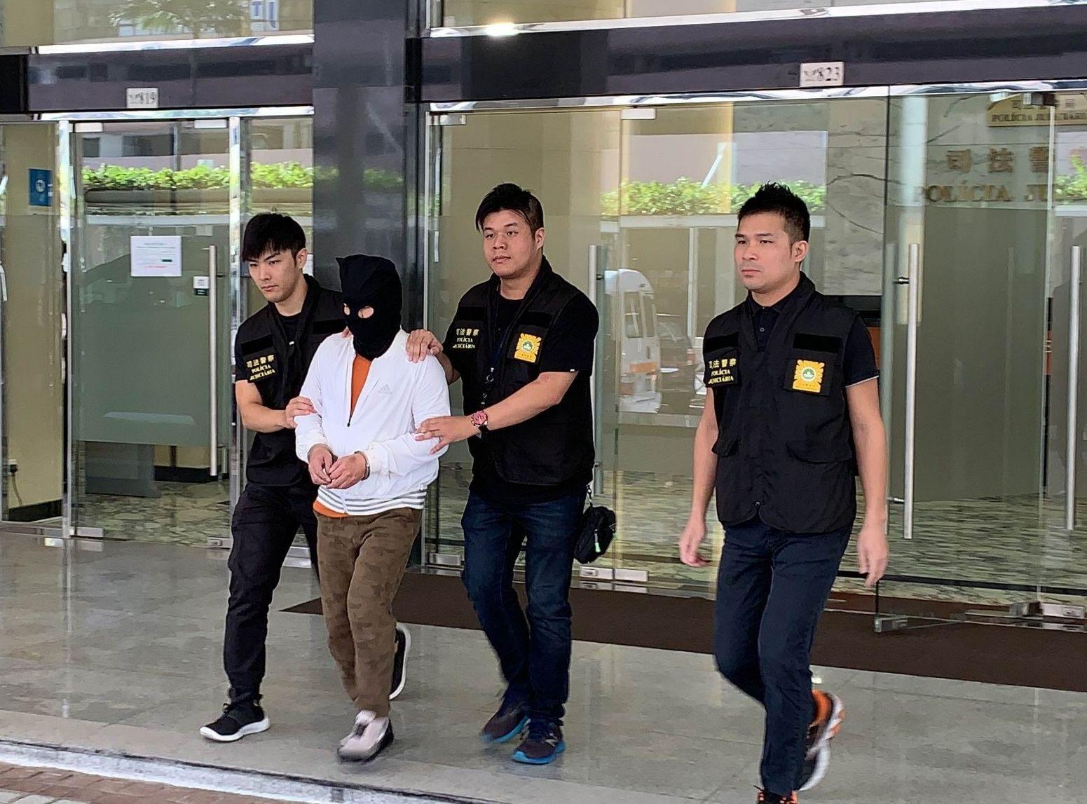 56岁港男收9500元报酬 涉助诈骗集团澳门洗黑钱被捕