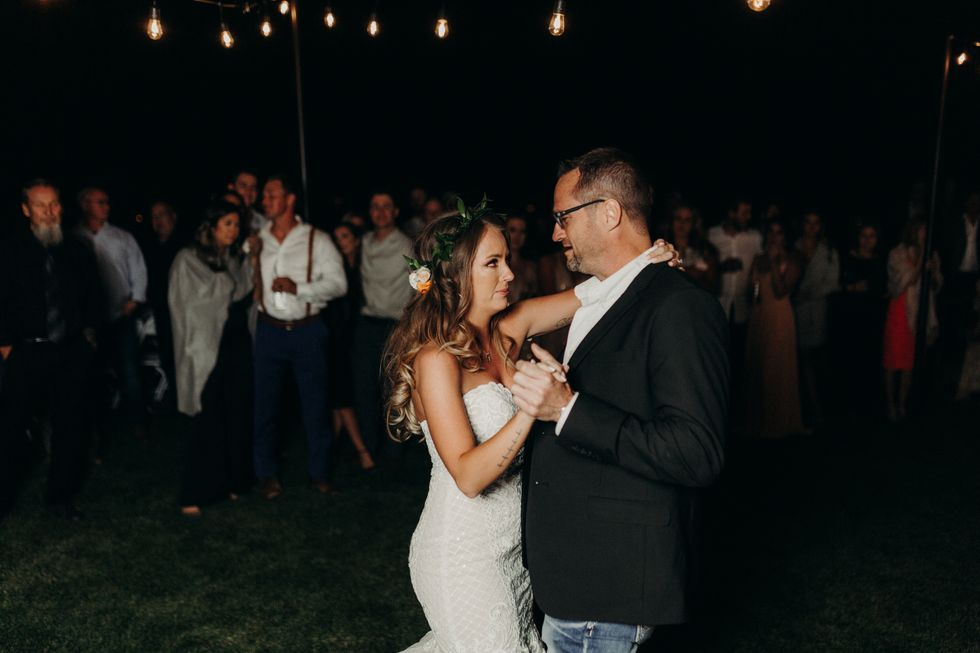 Colleagues Of Murdered Colorado Police Officer Step In For Emotional Father/Daughter Dance At His Daughter's Wedding