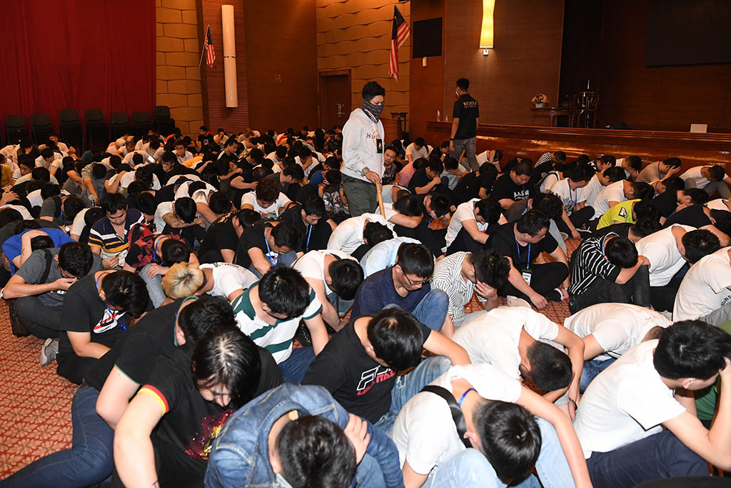 China-based online scam syndicate busted, 680 Chinese nationals held