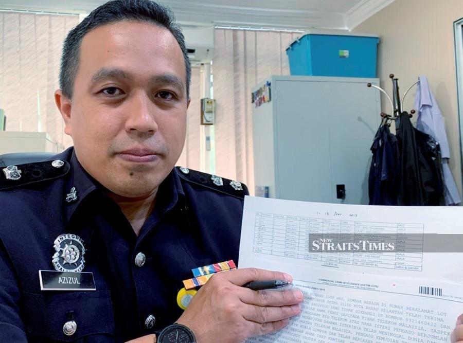 Macau scam victims in Kelantan lost RM3.7 million