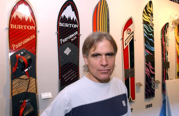 Jake Burton Carpenter, Who Ushered in Snowboarding as a Sport, Dies at 65