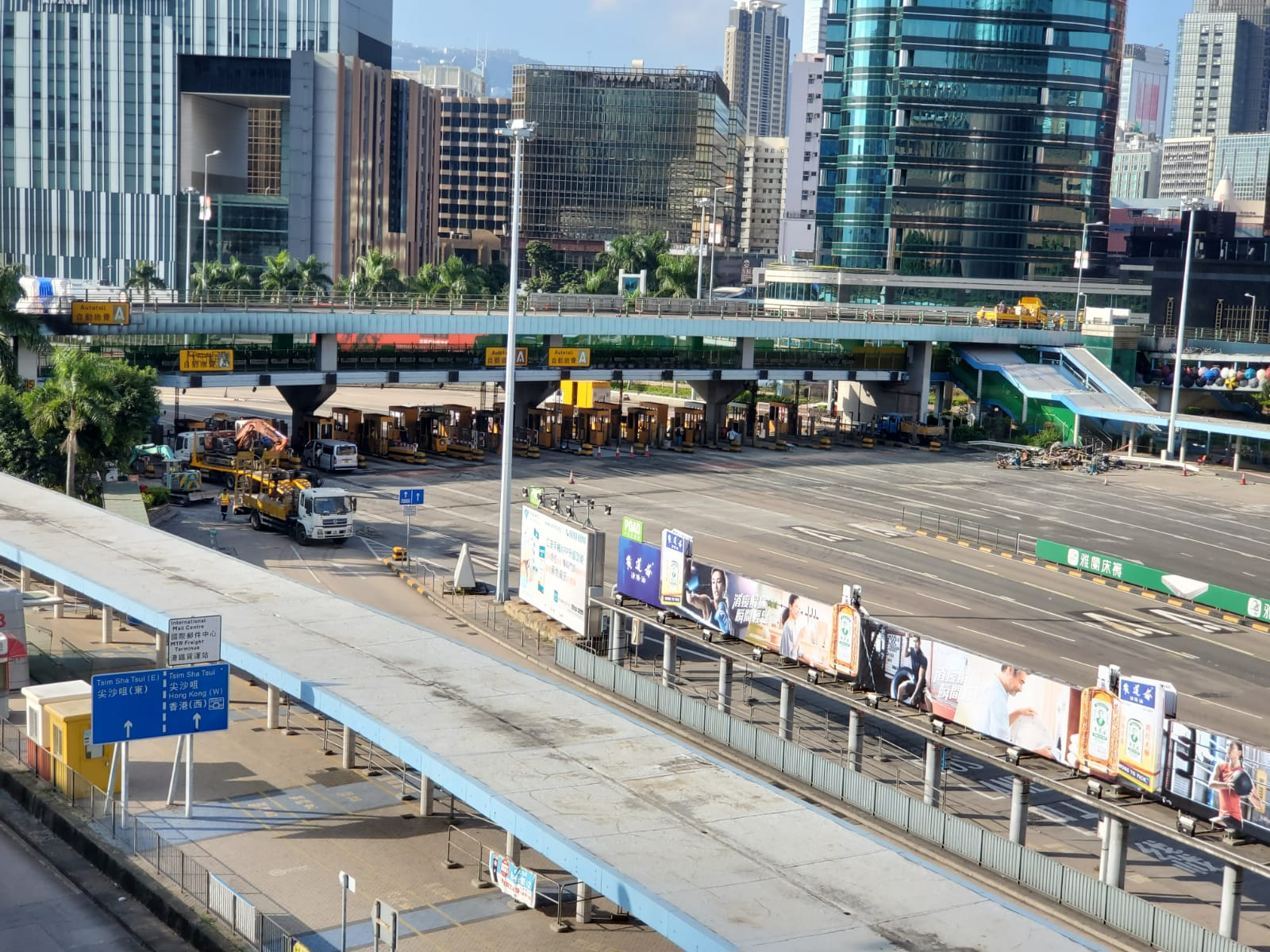 【修例风波】红隧设施抢修中 张建宗:目标下周稍后重开
