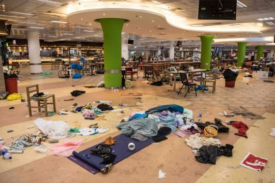 University campus siege nears end as Hong Kong gears up for election