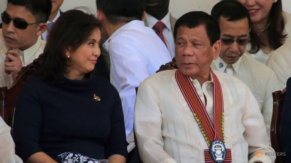 Philippines' President Duterte fires drugs tsar Leni Robredo