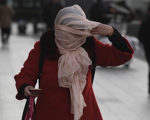 北京华北发寒潮蓝色预警 气温将急降12℃