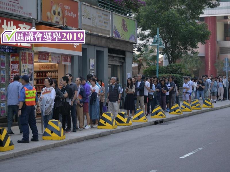 【区会选举】高投票率未必整日维持 蔡子强:或因担心投票提早中断