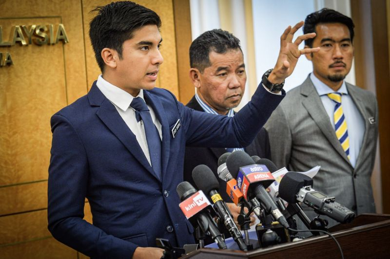 Syed Saddiq vows to resign if proven abusing power to grant IKBN tender covertly