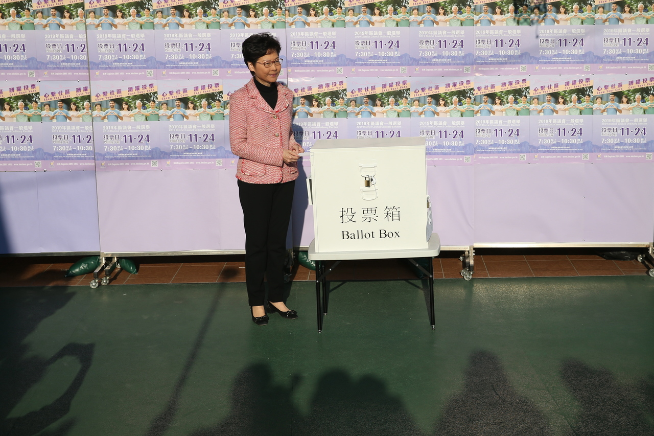 Hong Kong democrats score landslide victory in local elections amid record voter turnout