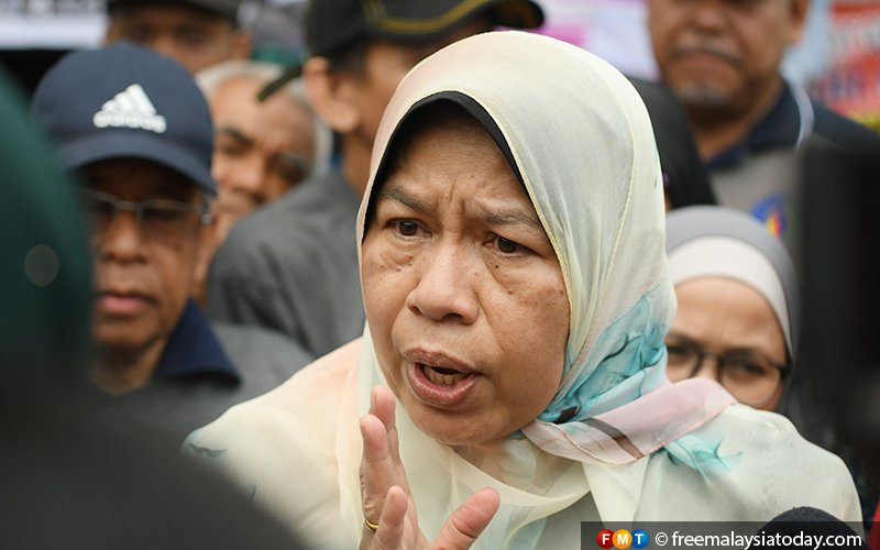 Sacking, not attending meetings are different issues, Zuraida tells PKR man