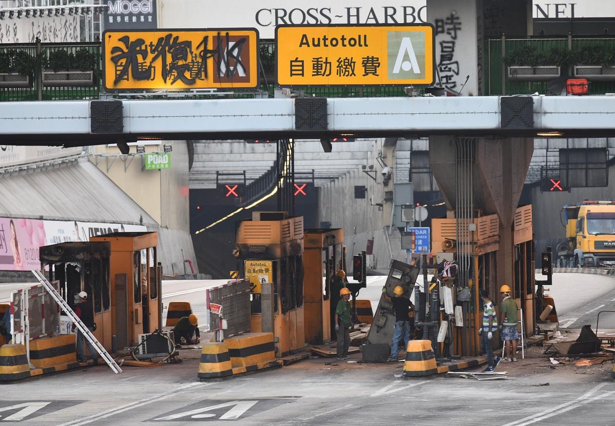 运输署:争取本周开通红隧 正检视復修工程进度