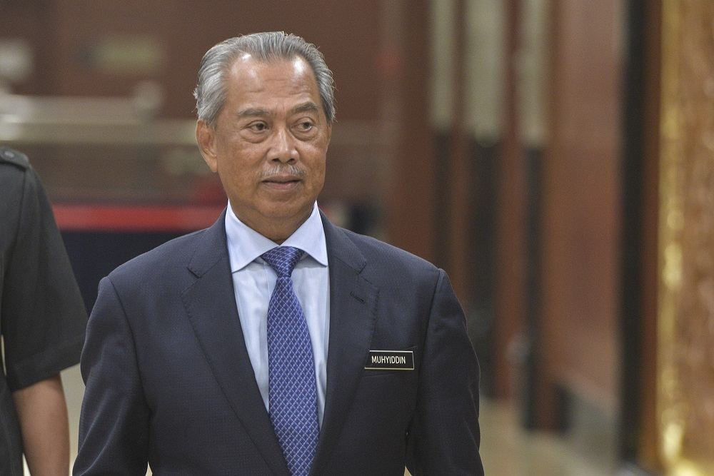 Five-pointed star Jalur Gemilang incident: Proper action after probe completed, says Muhyiddin