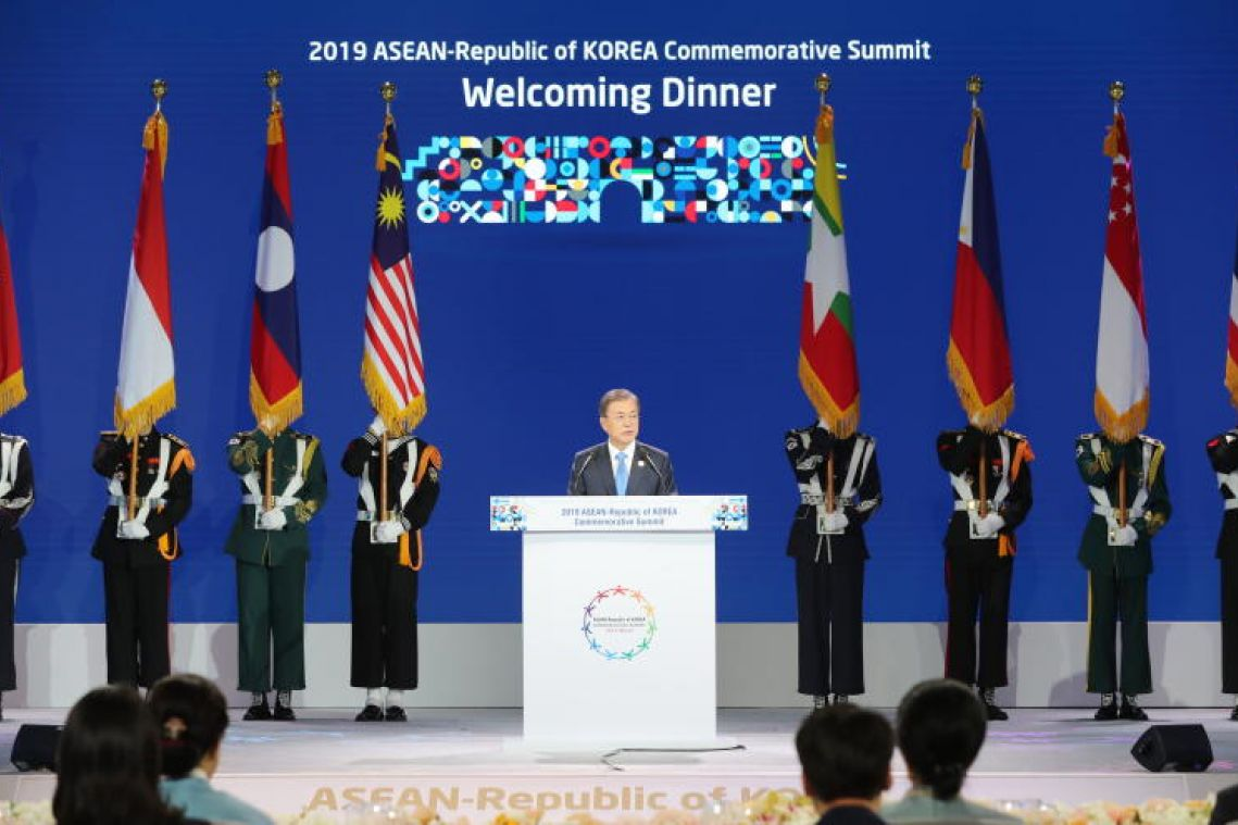 President Moon Jae-in's vision for South Korea and Asean to prosper together