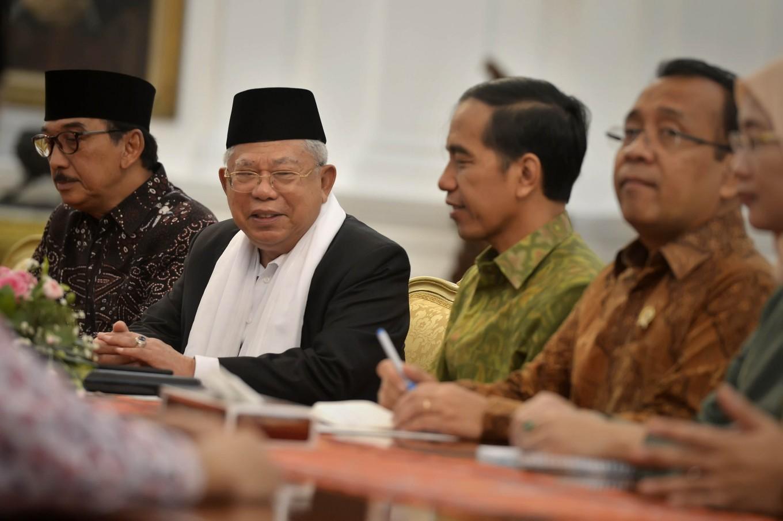 After Jokowi's 'millennials' team, Ma'ruf picks 'colonial era' expert staff