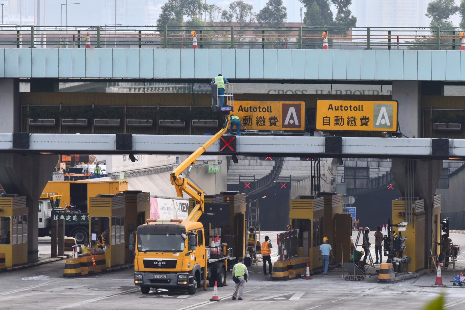 红隧明早重开 新巴城巴九巴将恢復原有路缐服务