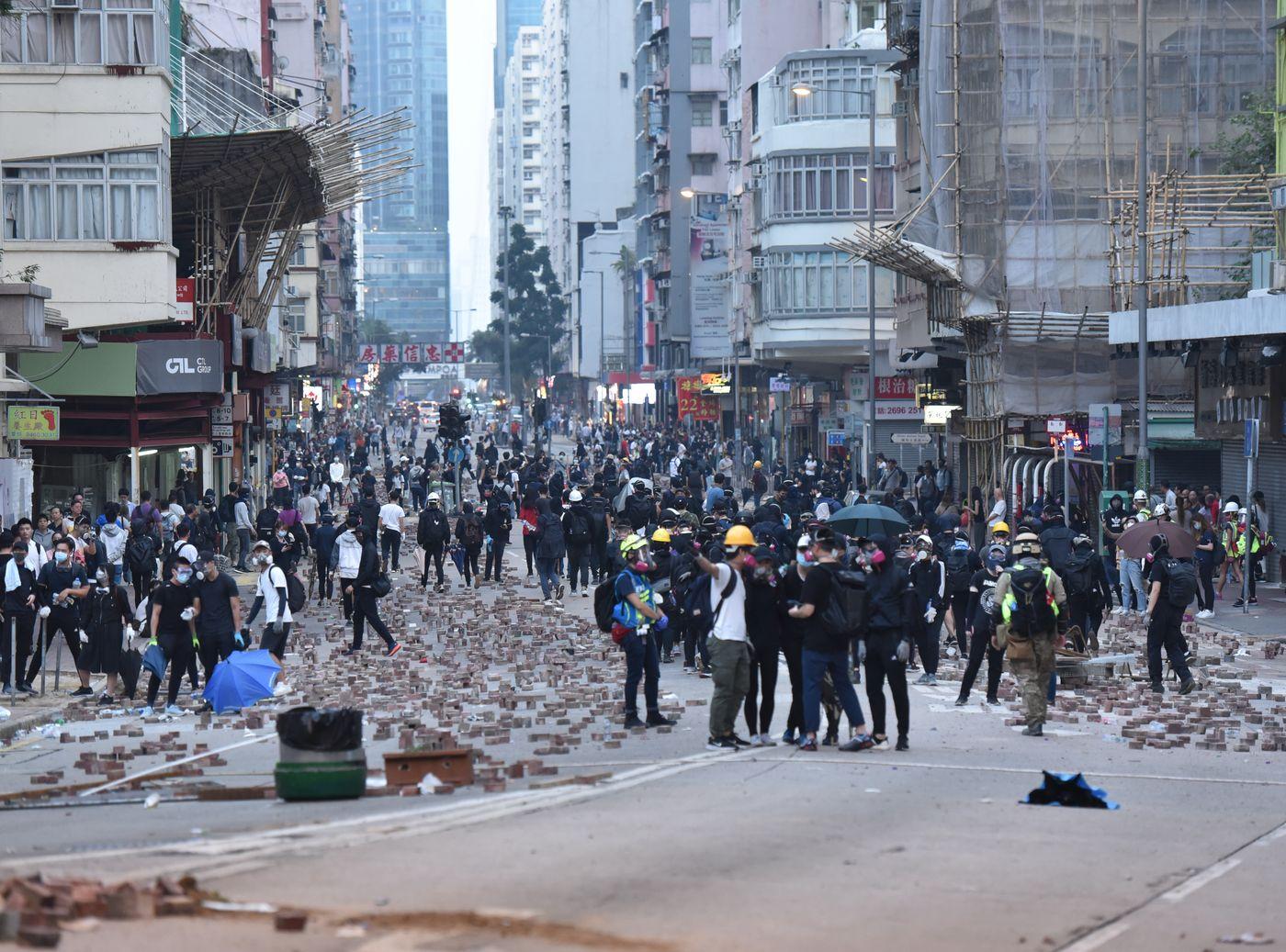 【修例风波】美民调:68%受访者贊成美国支持港示威者