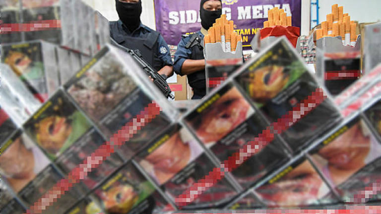 Cigarettes worth more than RM2m seized in Kuching