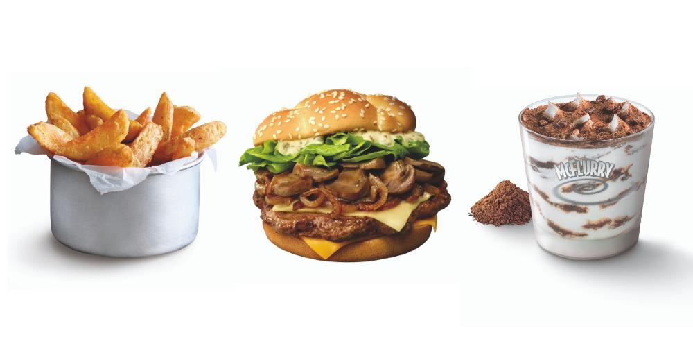 McDonald's S'pore bringing back Dinosaur McFlurry & Angus Mushroom Supreme from Nov. 28, 2019