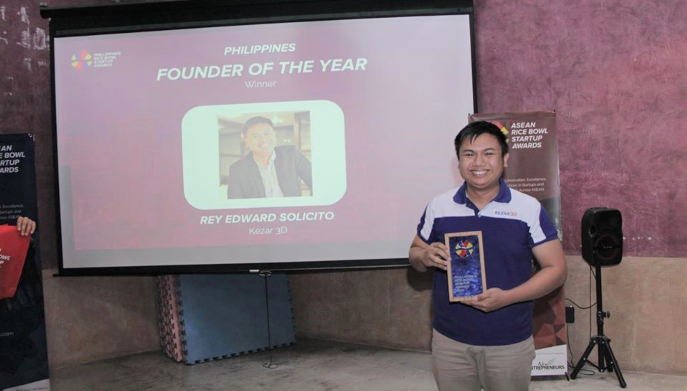 Meet Edward Solicito, the winner of Rice Bowl Philippines's Founder of the Year award