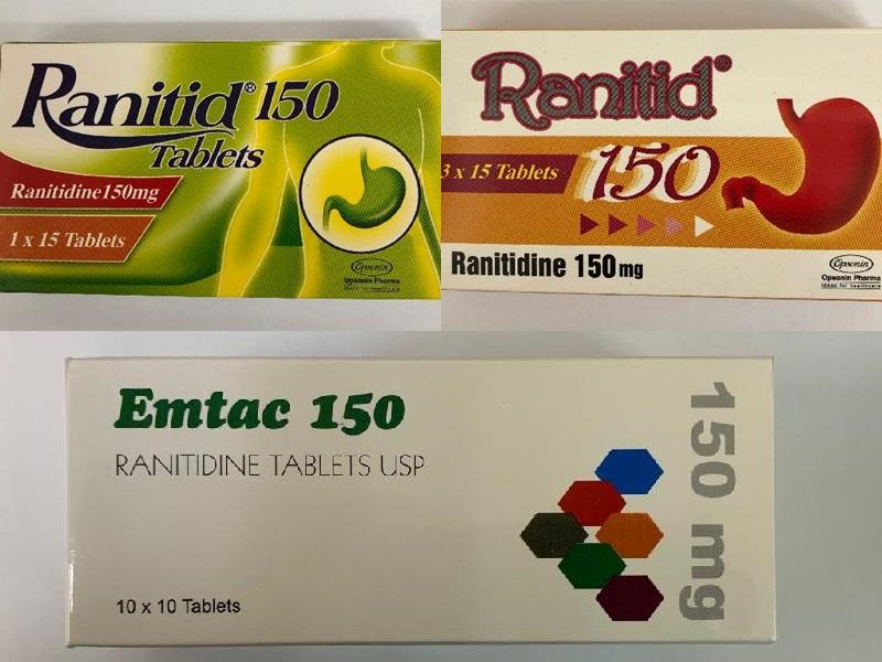 再有2款含雷尼替丁非处方胃药自愿回收