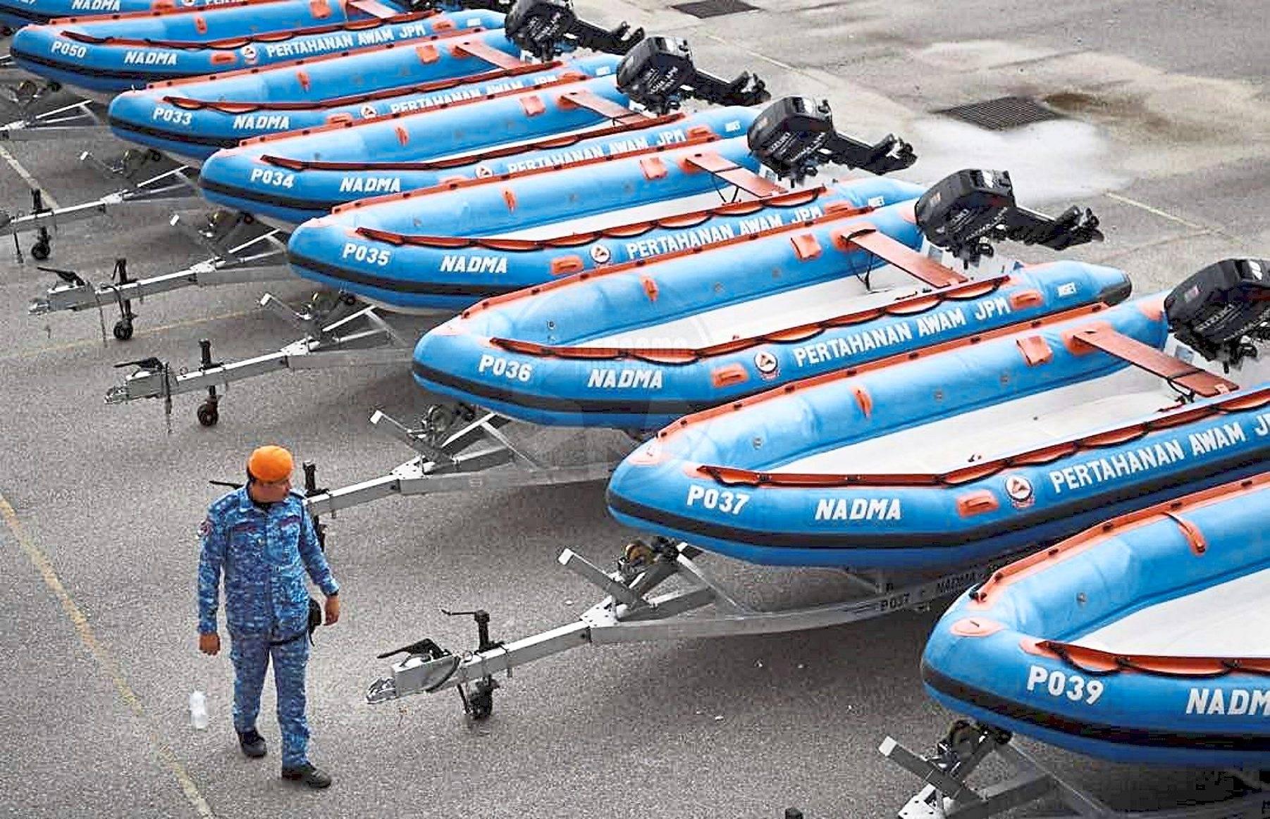 Rescue personnel on standby for landas season