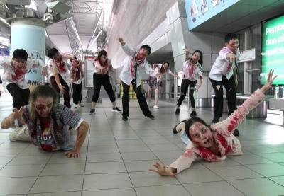 Zombies on the loose!