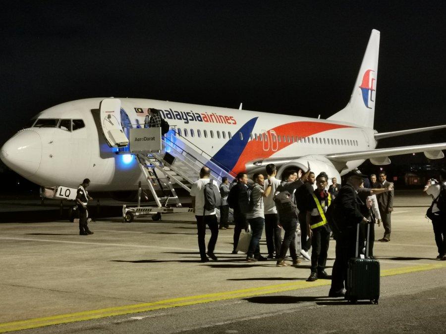 怡保直飞广州航线 今晚正式起航