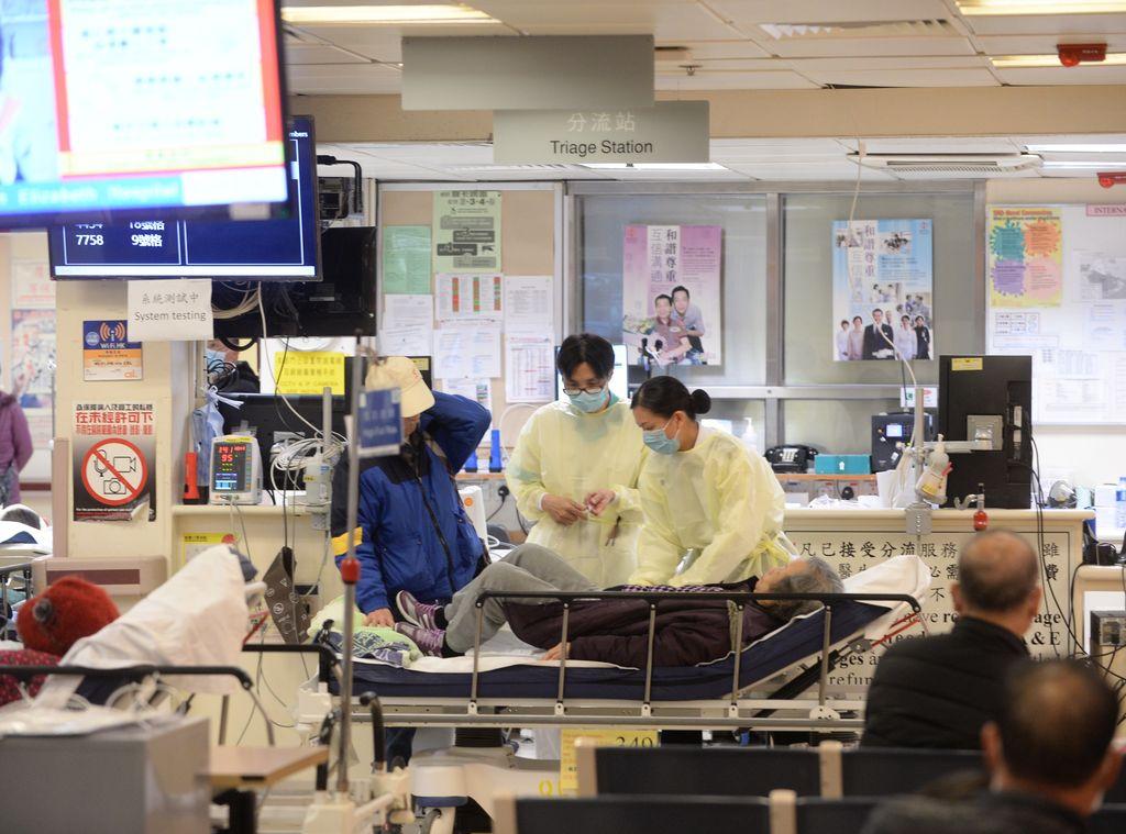 医管局为应对冬季流感高峰期拨款逾7亿 增逾900临时病床